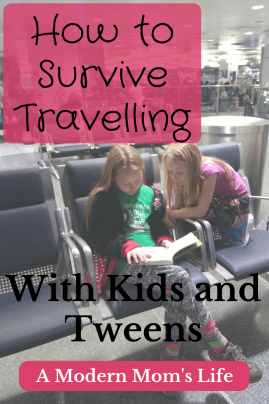 How to Survive Travelling with Kids and Tweens