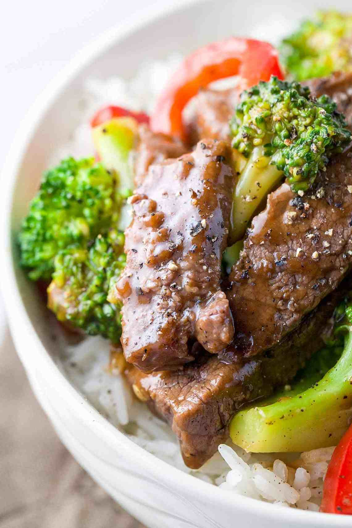 Easy Chinese Beef with Broccoli Recipe | Jessica Gavin