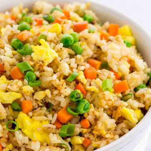 Easy Fried Rice (Better than Takeout!) - Jessica Gavin