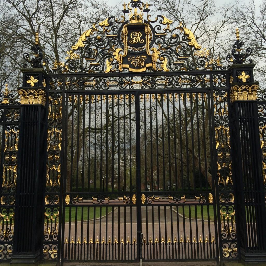 The Regent's Park gates