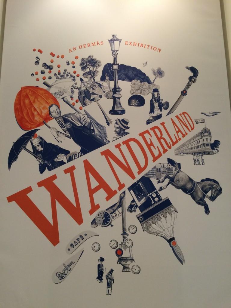 Hermès Wanderland entrance