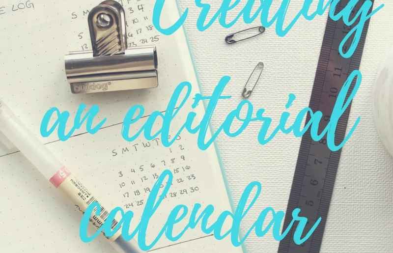 Editorial calendar, becoming a blogger