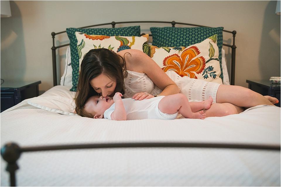 Dallas TX Lifestyle Newborn Session