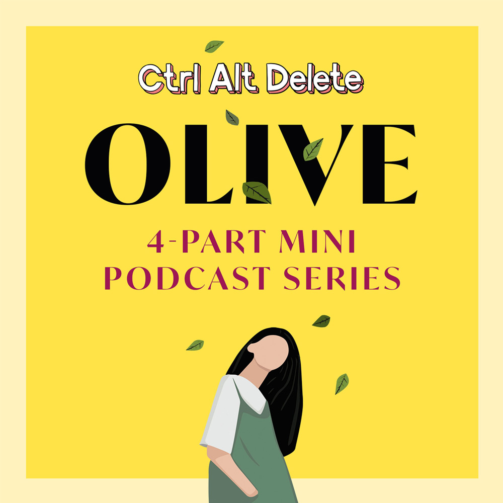 Ctrl-Alt-Delete Olive Podcast miniseries episode with Emma Gannon interviewing Jessica Hepburn