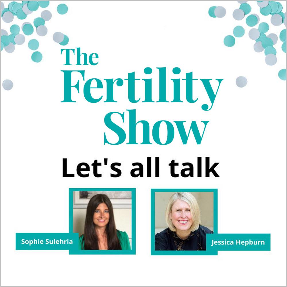 Jessica Hepburn on Let's All Talk Webinar for Fertility Fest