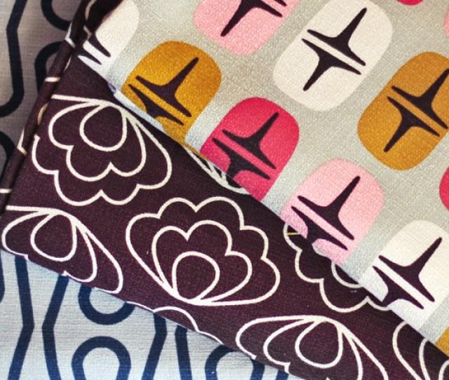 Mod Retro Barkcloth Fabric From Cloud9 Fabrics
