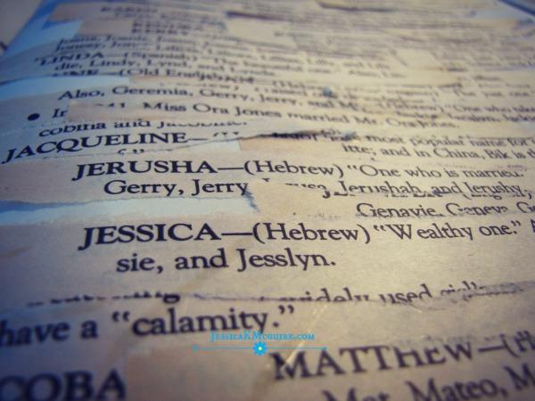 Jessica name watermarked