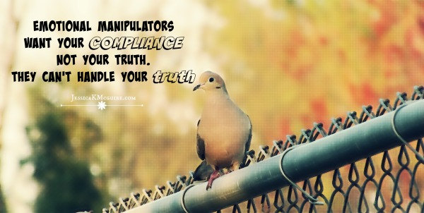 EMOTIONAL MANIPULATORS compliance jkmcguire