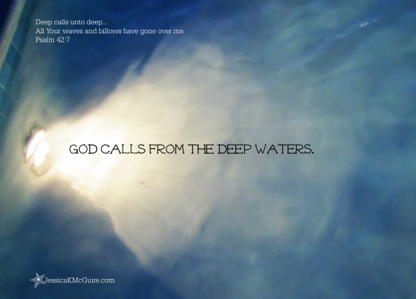 god calls from the deep waters