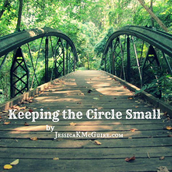 keeping the circle small