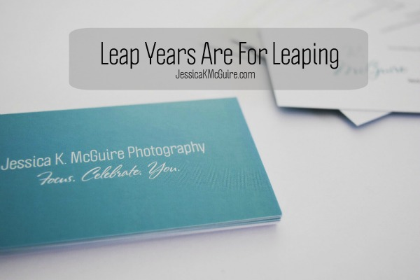 leap years are for leaping jkmcguire