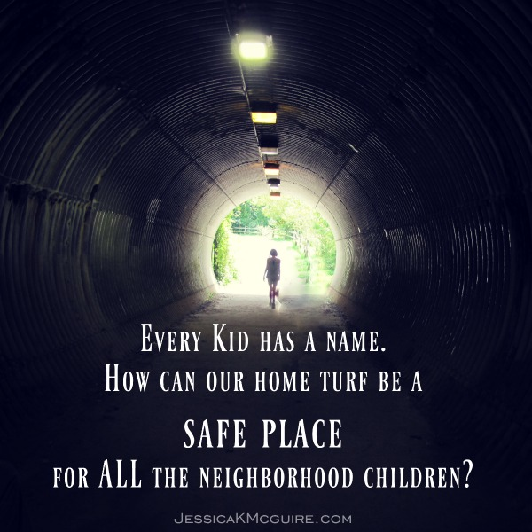 every kid has a name jkmcguire