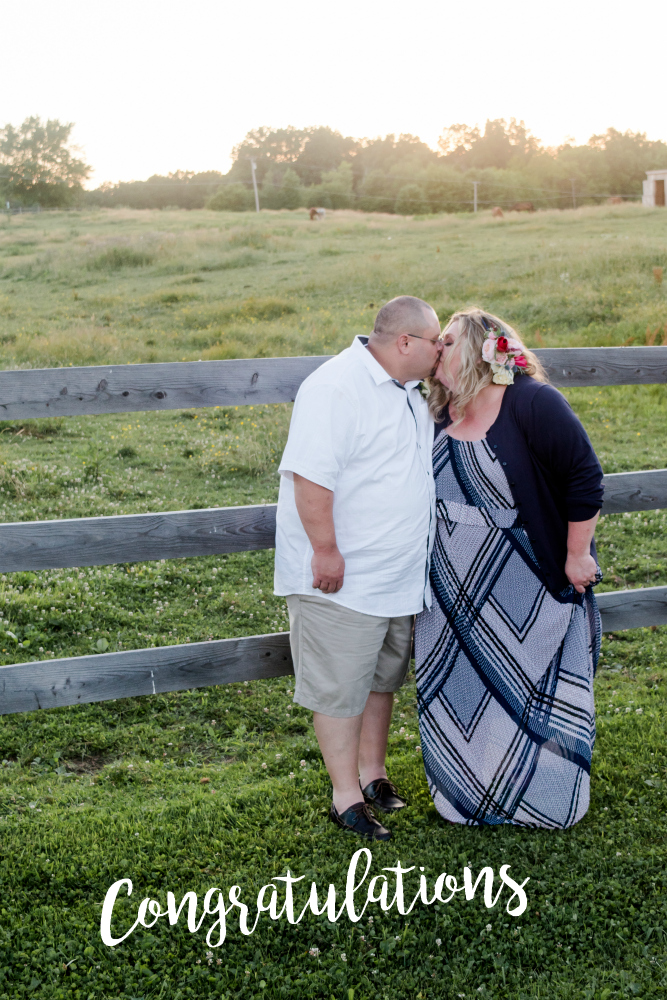 Pittsburgh Area Farm Wedding Reception