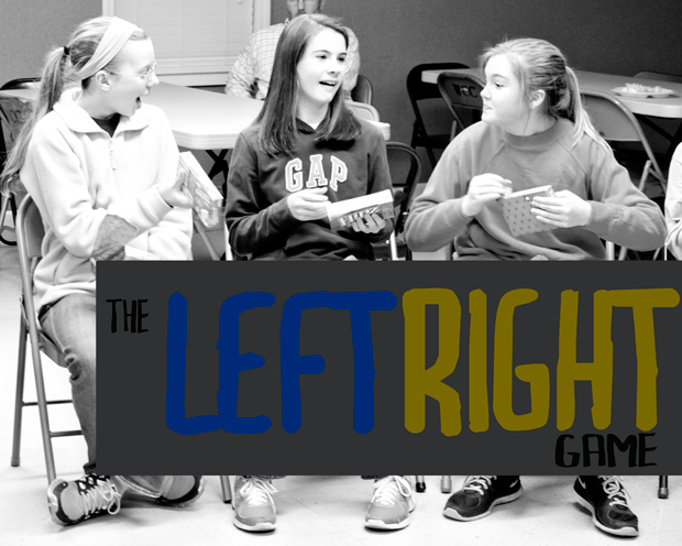 left right game - a really fun game for distributing gifts at a gift exchange
