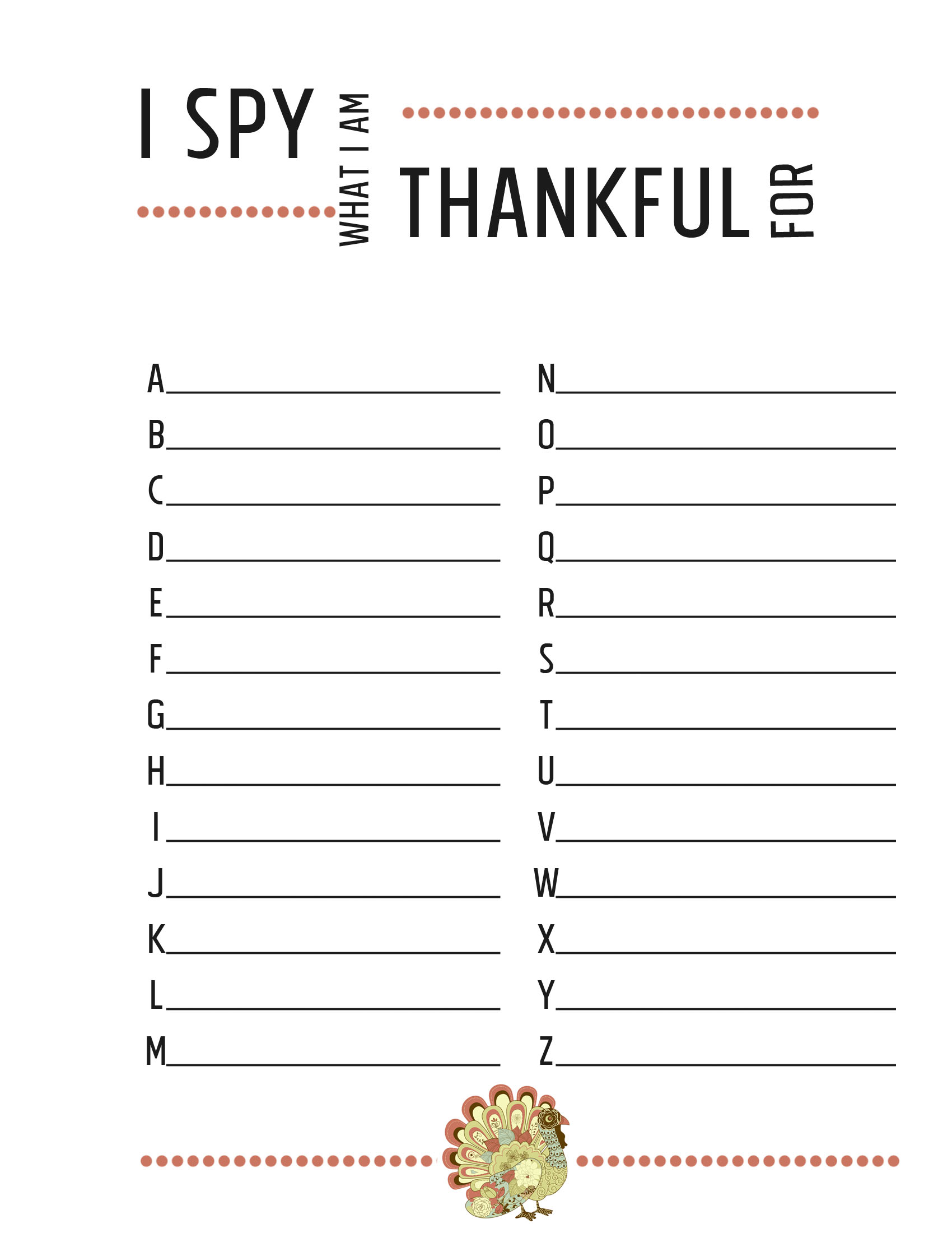 Thanksgiving Worksheets free printables JessicaLynette – I Am Thankful for Worksheets