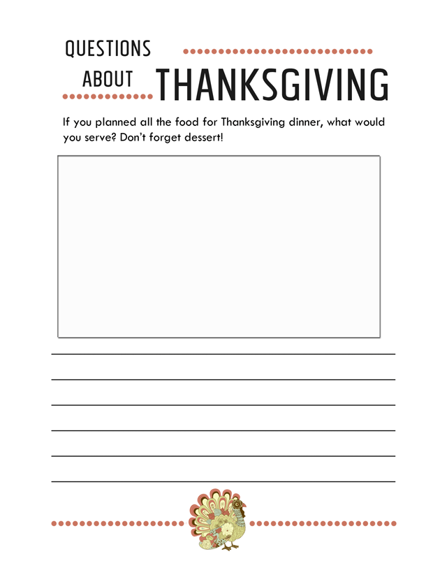 thanksgiving-worksheets-writing-prompts