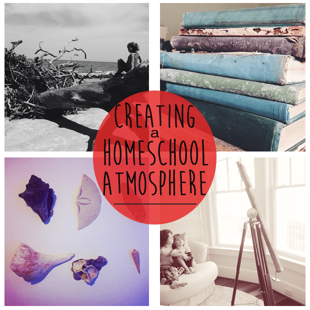 "creating-a-homeschool-atmosphere| It's not how much my kids know. I could never live up to that pressure.  The idea of giving them a ""full life"" encourages me towards creating this homeschool atmosphere that pushes a love of learning"