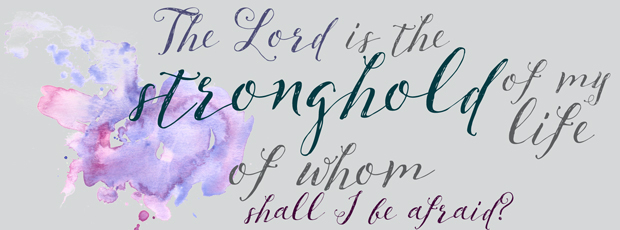 Facebook header psalm 27:1
