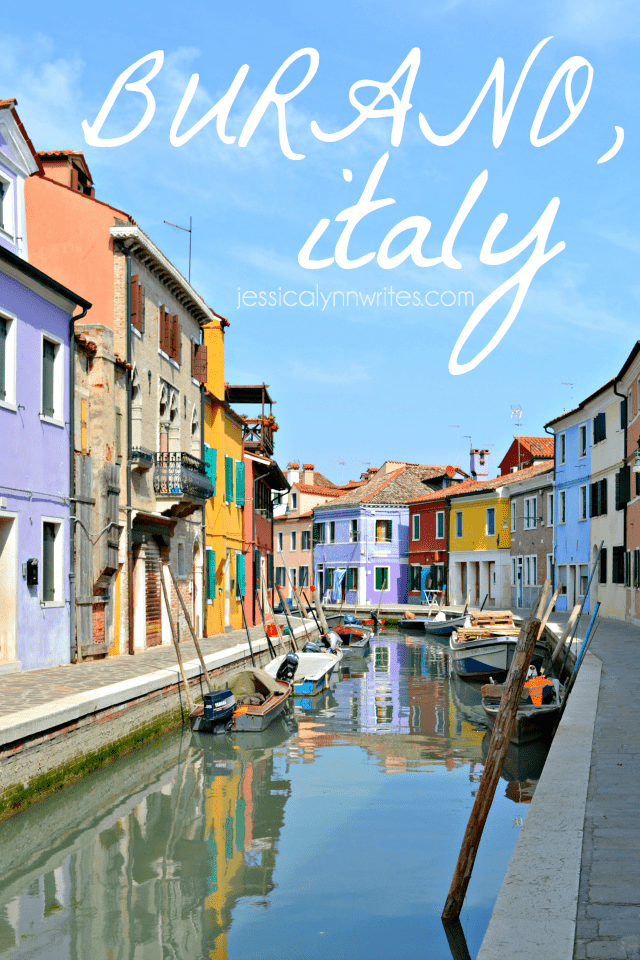 Burano, Italy—it's one of those place that can immediately stops you in your tracks and make your jaw drop