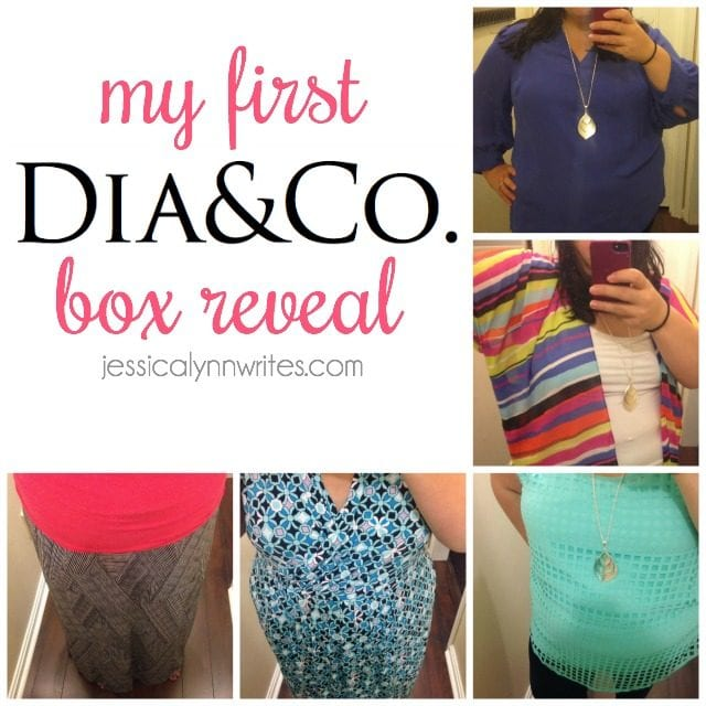 dia&co box reveal Gotta love a company that goes the extra mile for women who wear a size 10 and up!