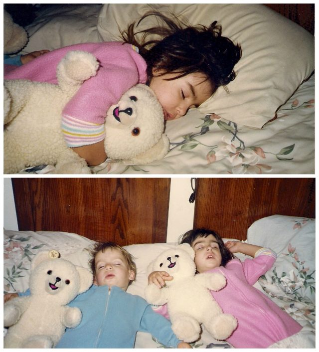 I'm going old school for National Teddy Bear Day, and I'm talking all about my first teddy bear. Friends, meet Snuggles!