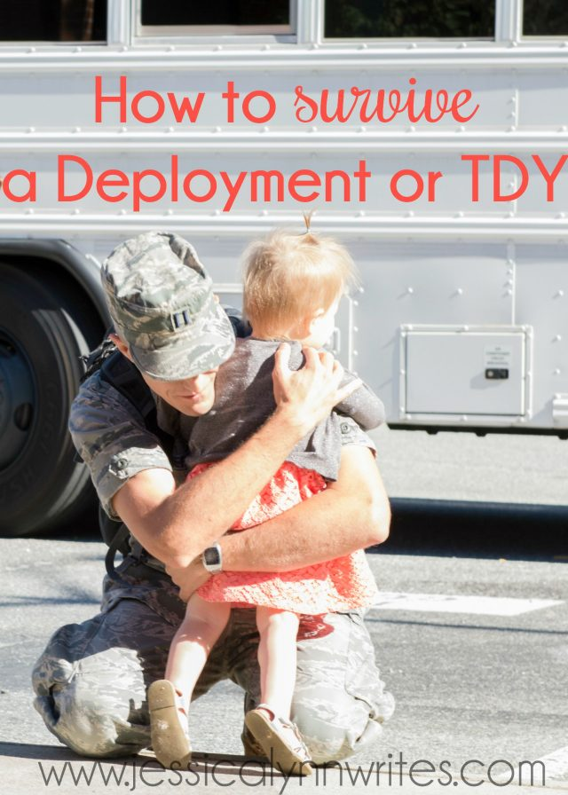 """Deployments & TDYs are HARD. I hear the phrase, """"I don't know how you do it,"""" all the time. Well here are my secrets; here are 7 ways I survive a deployment"""