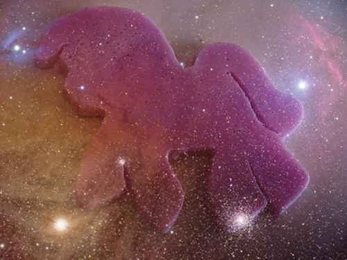 purple pony