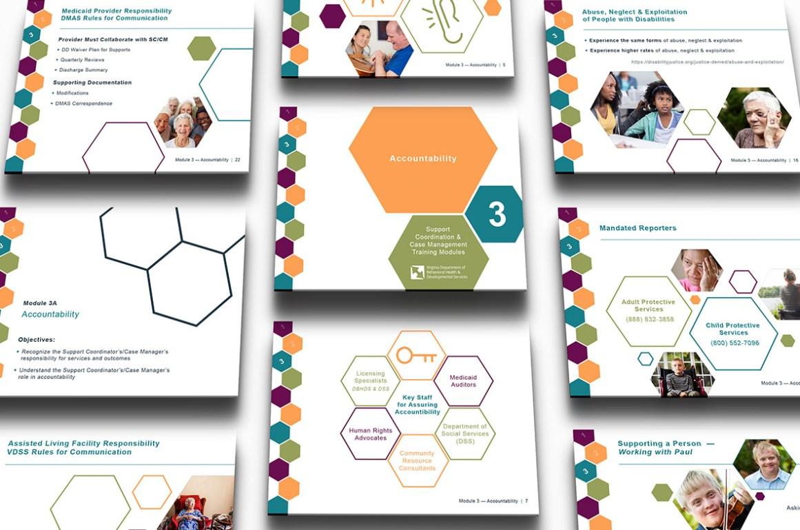Jessica Nicholson Graphic Design Dbhds Training Modules