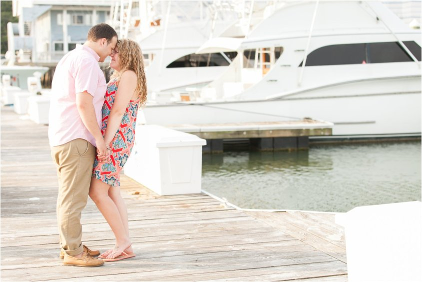 virginia beach oceanfront engagement at the water table