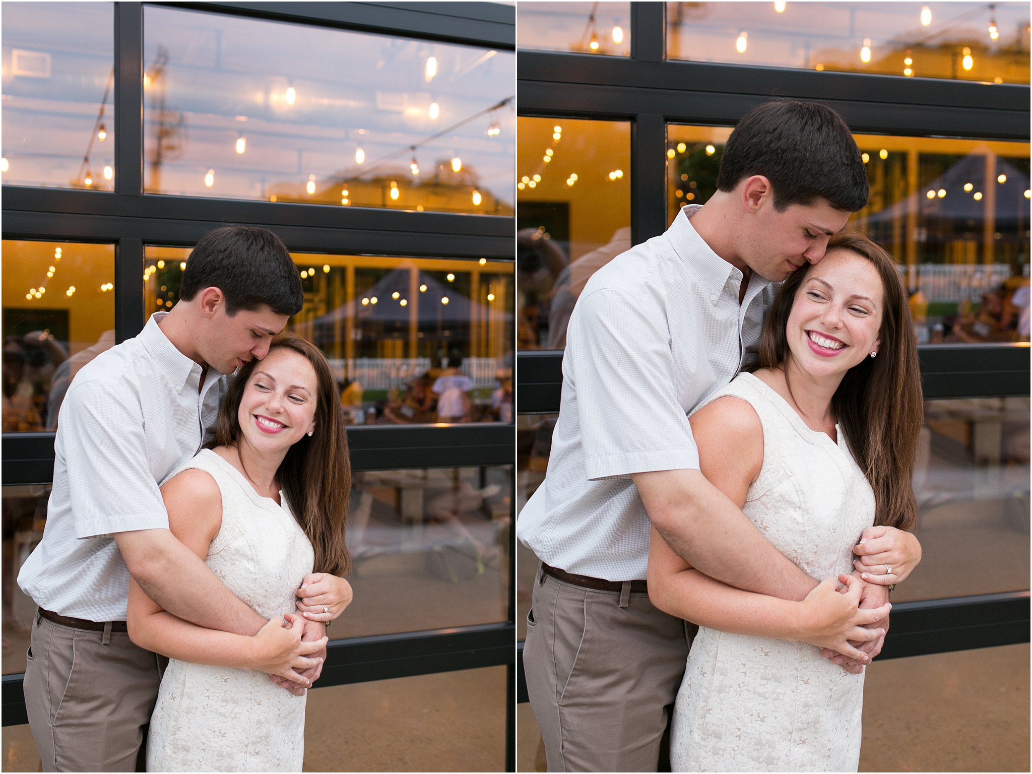 pleasure house brewing bride and groom portraits, jessica ryan photography