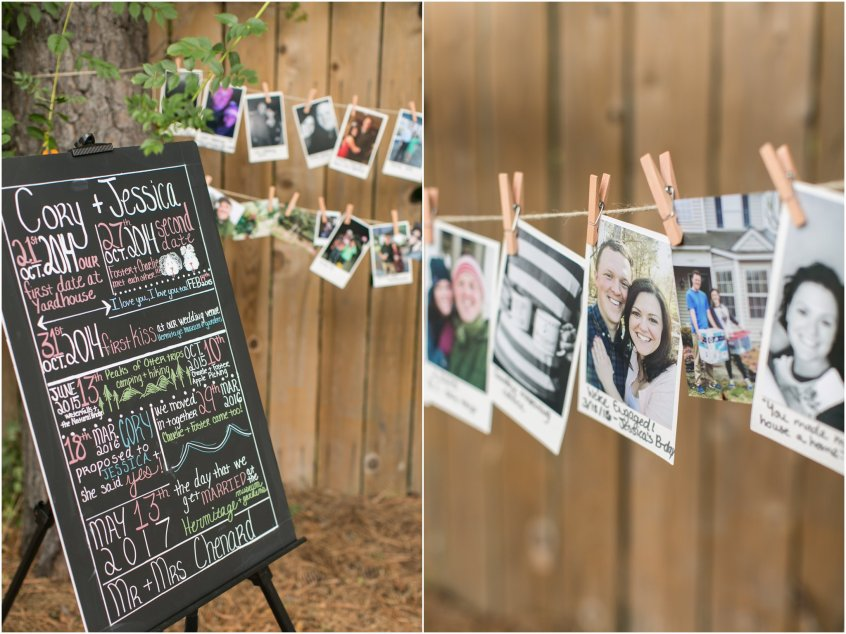 engagement party decoration diy chalkboard sign couples dates chalkboard sign