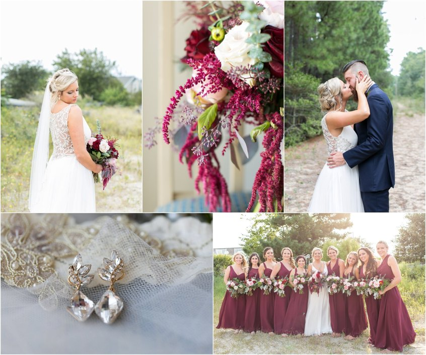 marina shores yacht club wedding marsala and woodland themed wedding virginia beach