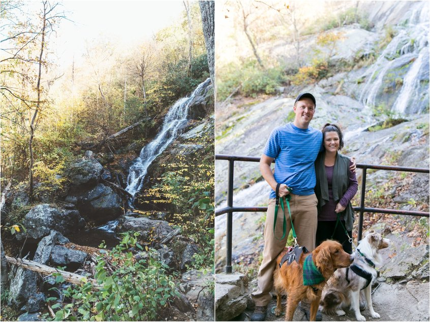Wintergreen Resort Hiking Virginia crabtree falls