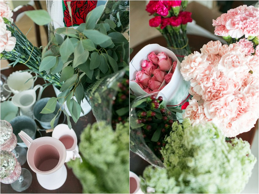 i have convinced myself that if i was not a wedding photographer that i would still be in the wedding industry because arranging flowers for events for my