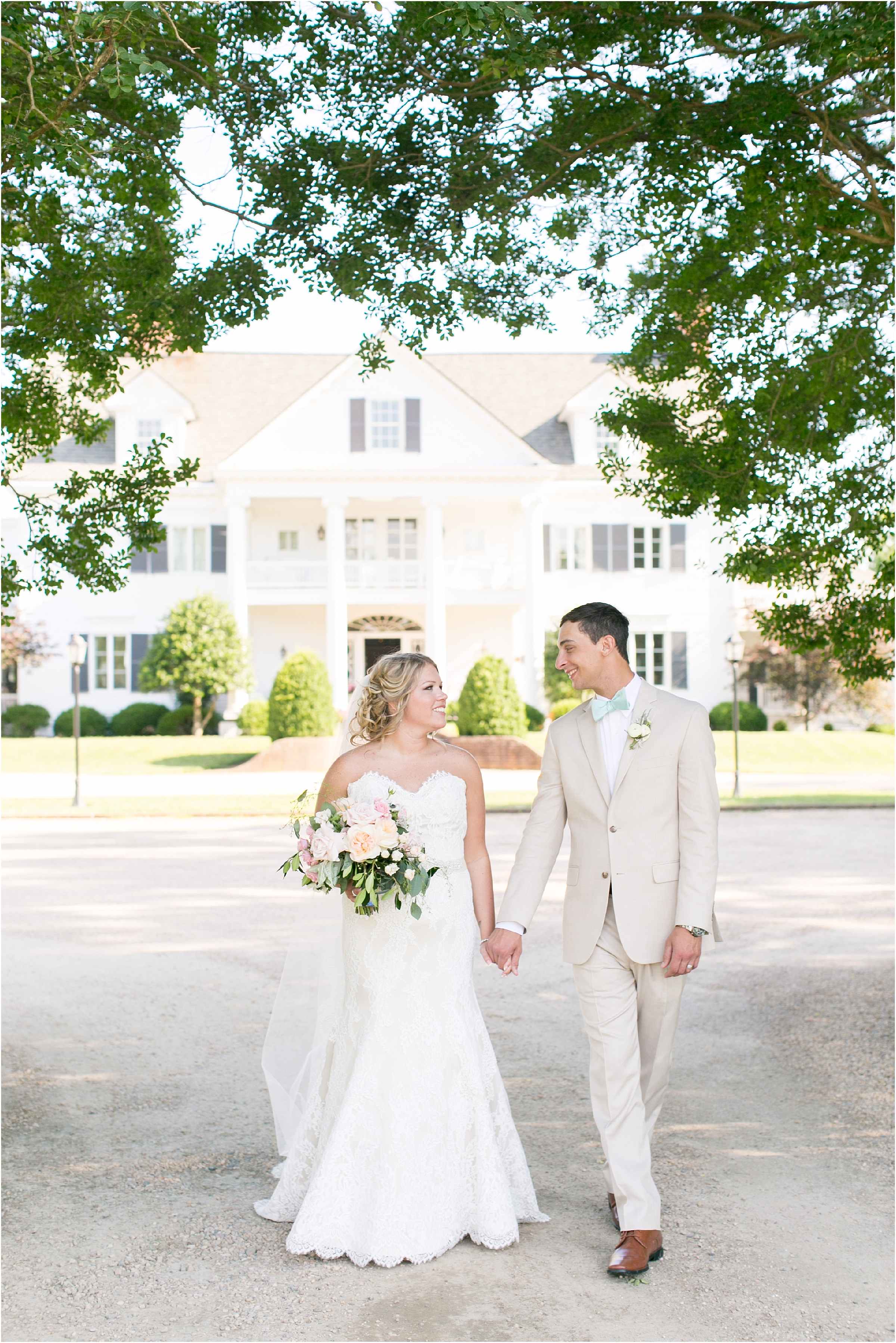 inn at warner hall wedding