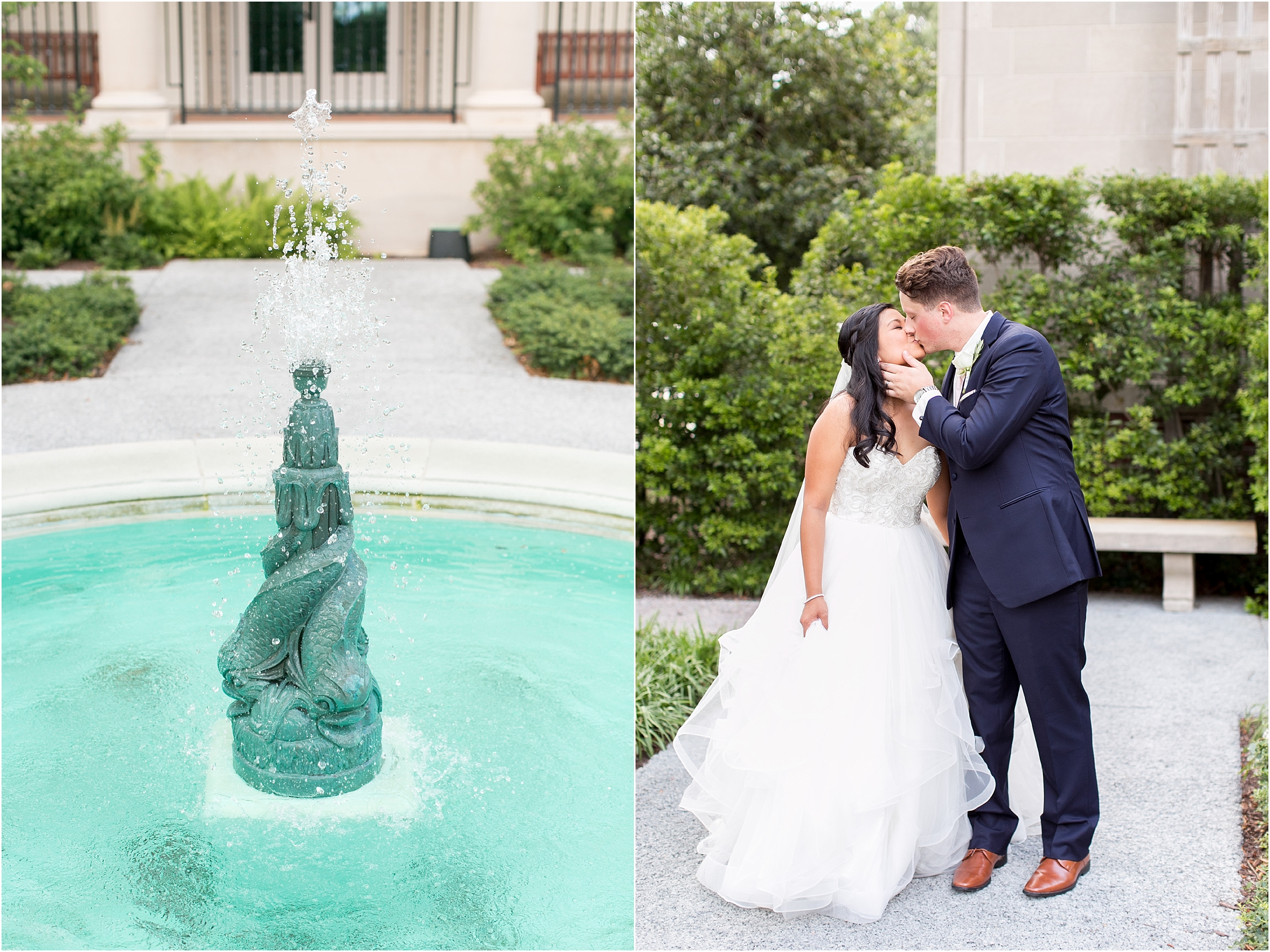 Chrysler Museum of Art elegant bride and groom portrait jessica ryan photography