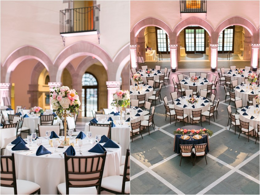 Chrysler Museum of Art elegant wedding reception jessica ryan photography waterford event rentals