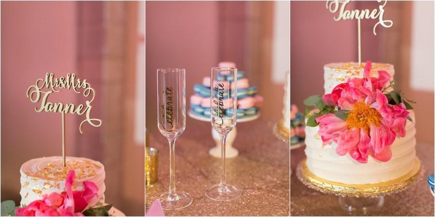 Chrysler Museum of Art elegant wedding reception jessica ryan photography courtney inghram events hummingbirdmacarons