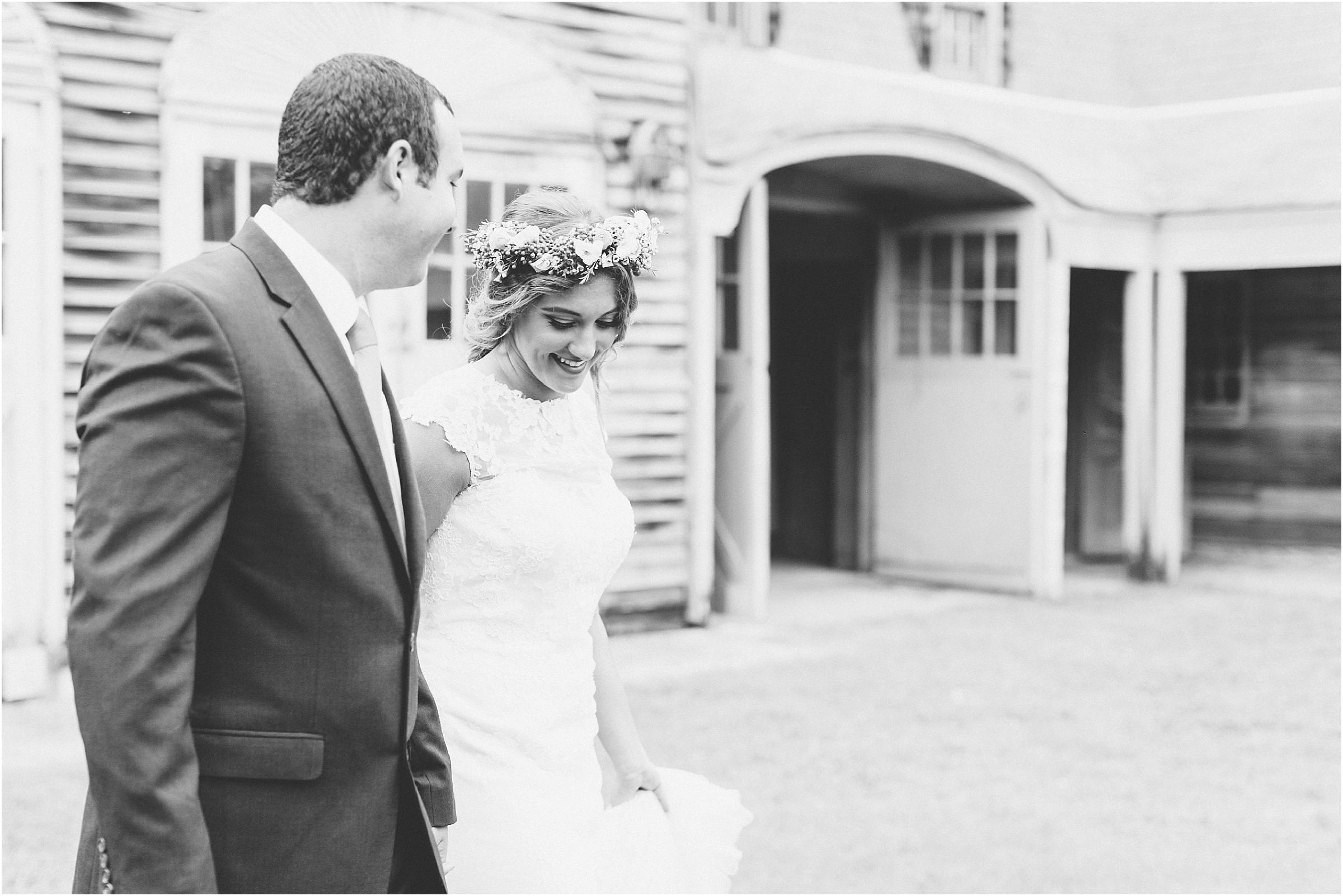 flyway lodge wedding knotts island north carolina wedding photography