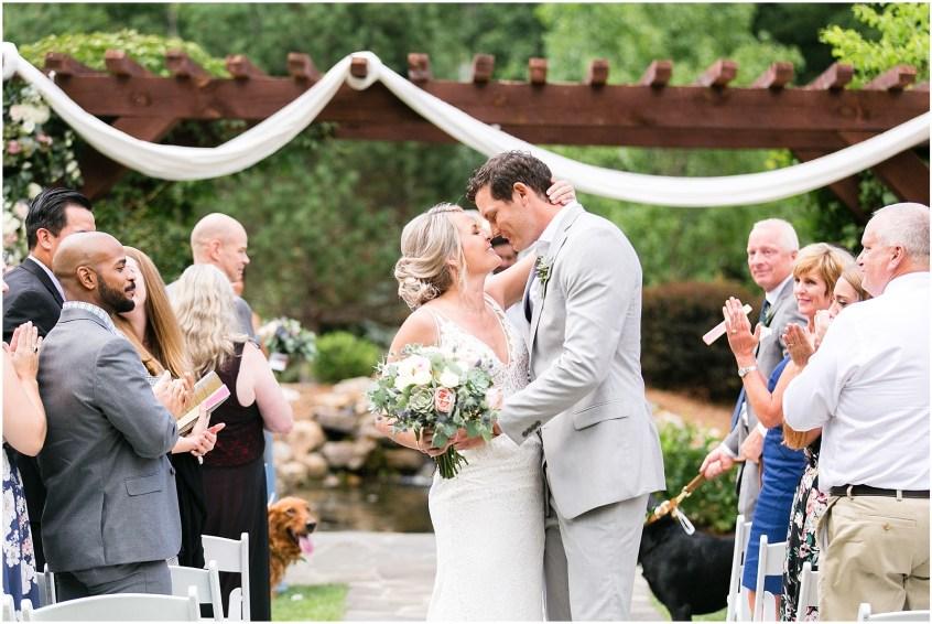 house mountain inn wedding lexington Virginia, wedding ceremony