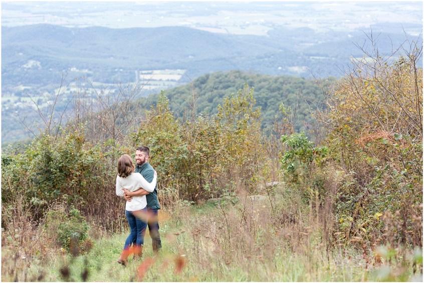 skyline drive virginia adventure anniversary portraits hiking, jessica ryan photography