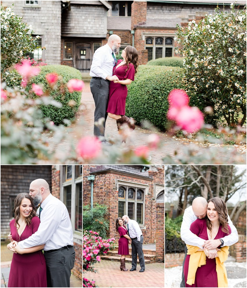 hermitage museum and gardens engagement photography, winter engagements, jessica ryan photography