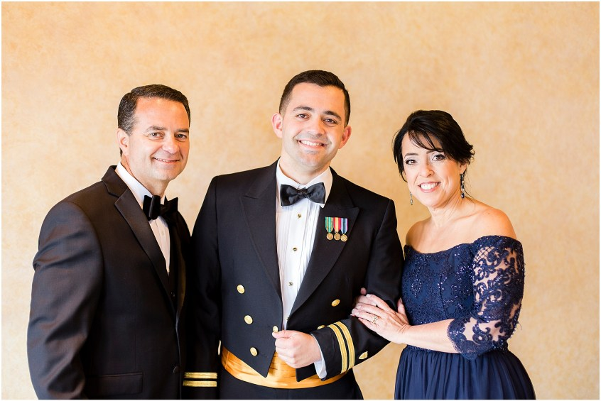 groom and his parents, spring wedding at the hermitage museum and gardens, Jessica Ryan photography,