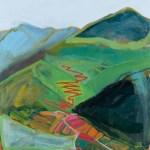 Alpe d'huez painting