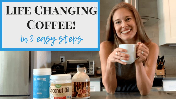 coffee with coconut oil