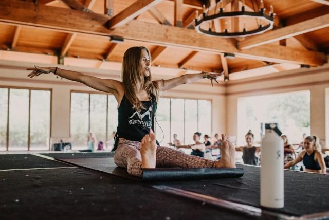 Jessica Valant Pilates Momentum Fest