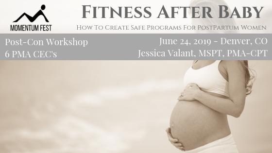 Jessica Valant Pilates Postpartum fitness