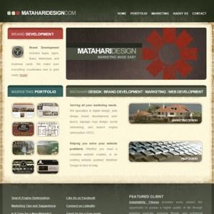 Matahari - Web Design