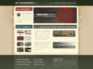 Matahari Design Home Page