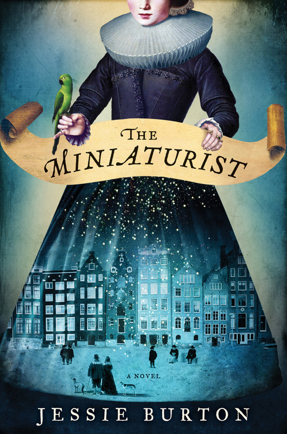Image result for the miniaturist jessie burton book cover